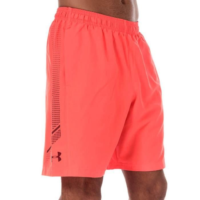 Short Under Armour Ua Woven Graphic Pour Homme En Rose.