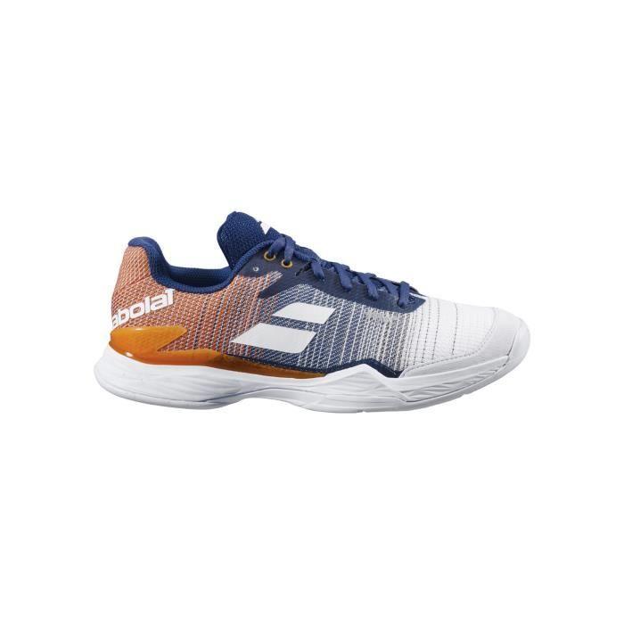 Chaussures BABOLAT Garçon Jet Clay Junior Bleu / Ocre AH 2020