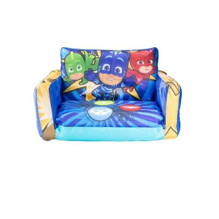 Mini canapé-lit convertible gonflable pour enfants - 26 x 68 x 105 cm