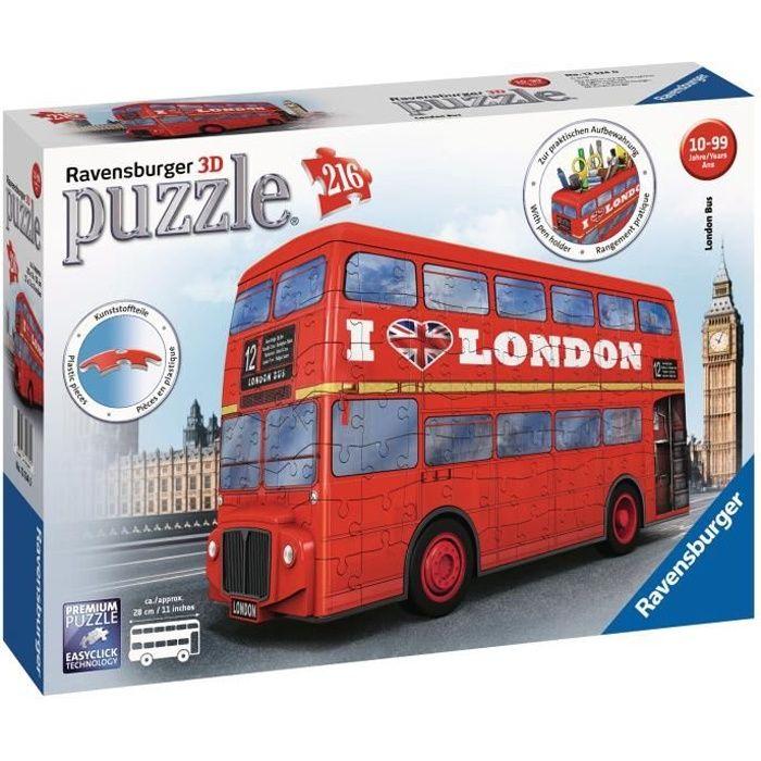 RAVENSBURGER Puzzle 3D Bus Londonien 216 pièces
