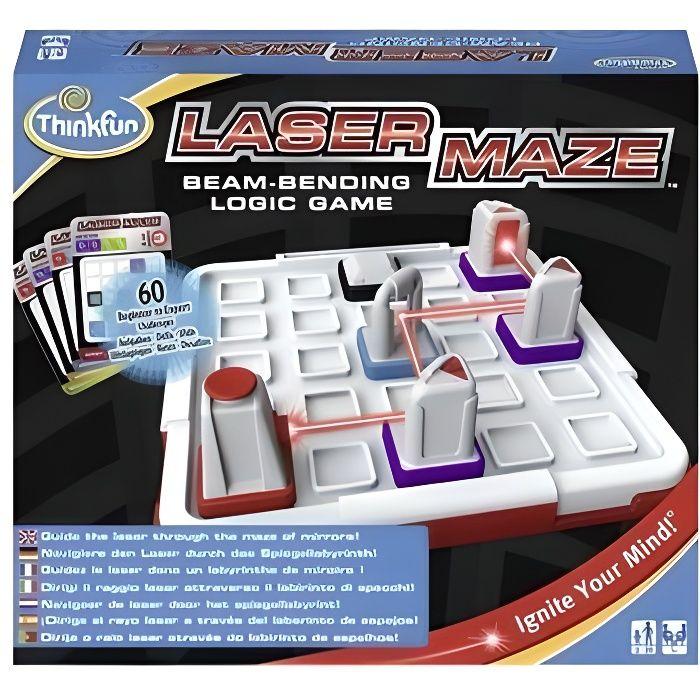 RAVENSBURGER Laser Maze - Jeu de Casse Tête - 60 Cartes Défis-Solutions