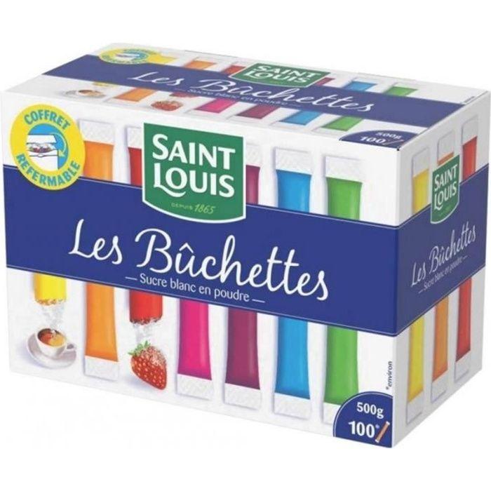 Saint Louis Les Bûchettes Sucre En Poudre 500g (lot de 3)