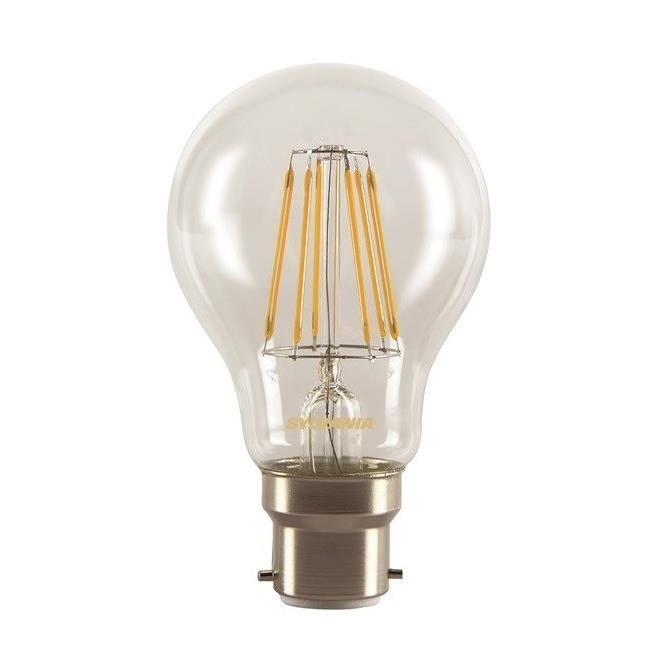 SYLVANIA Ampoule LED Toledo Retro à filament B22 7W équivalence 60W