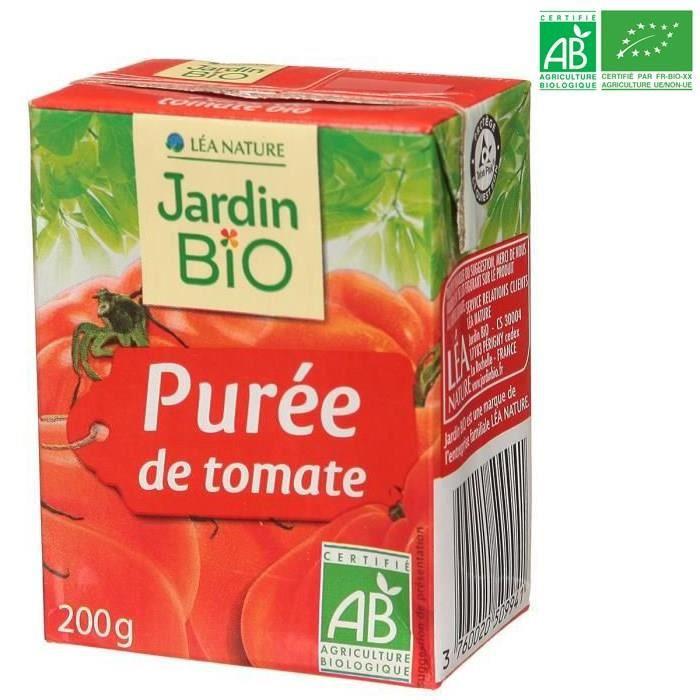JARDIN BIO Purée tomate bio 200g