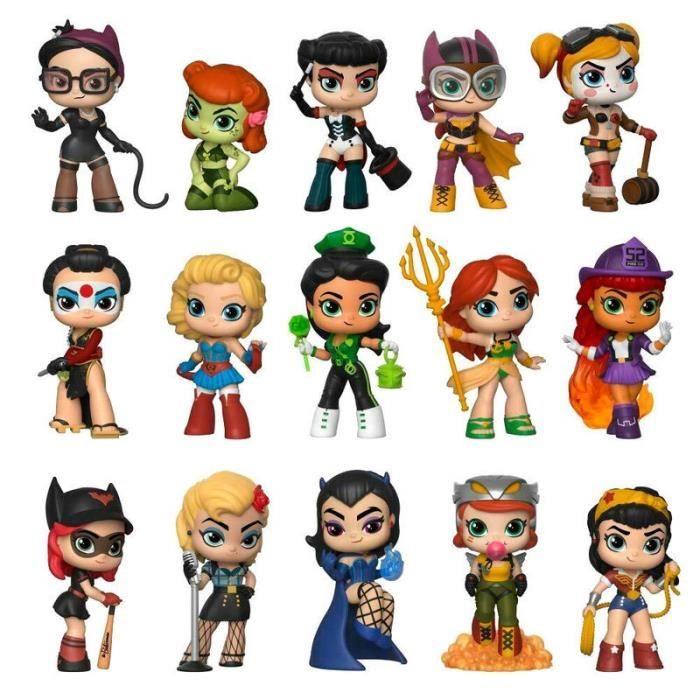 FIGURINE - PERSONNAGE Figurines Funko Mystery Mini - DC Bombshells : 12