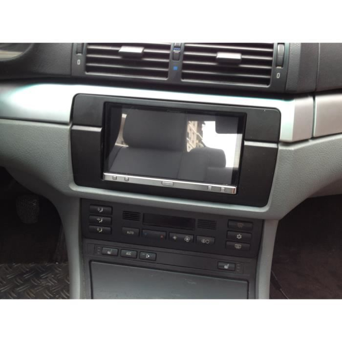 bmw e46 entretoise cadre 6 autoradio double din achat vente installation autoradio bmw e46. Black Bedroom Furniture Sets. Home Design Ideas