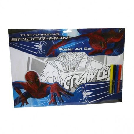 Spiderman ensemble de coloriage achat vente kit de - Jeux de spiderman coloriage ...