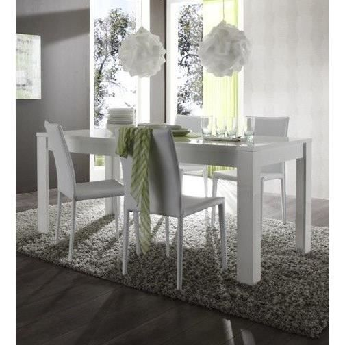 Table de salle manger design divano table l 160 x p for Table de salle a manger 3 metres