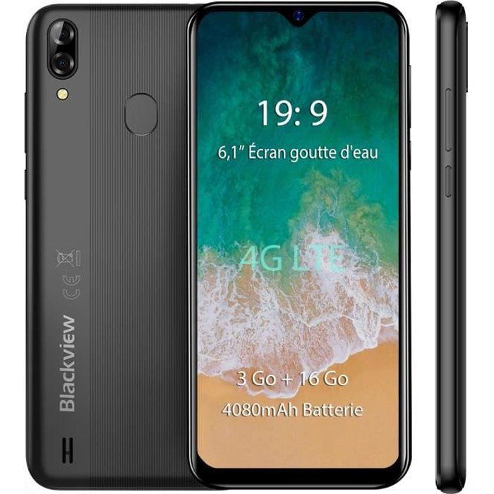 SMARTPHONE Smartphone 4G Blackview A60 Pro 6.1'' Écran 3Go Ra
