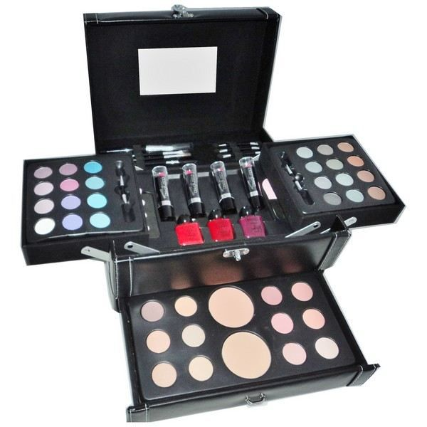 coffret maquillage professionnel vanity cosmepro 58 produits achat vente coffret cadeau. Black Bedroom Furniture Sets. Home Design Ideas