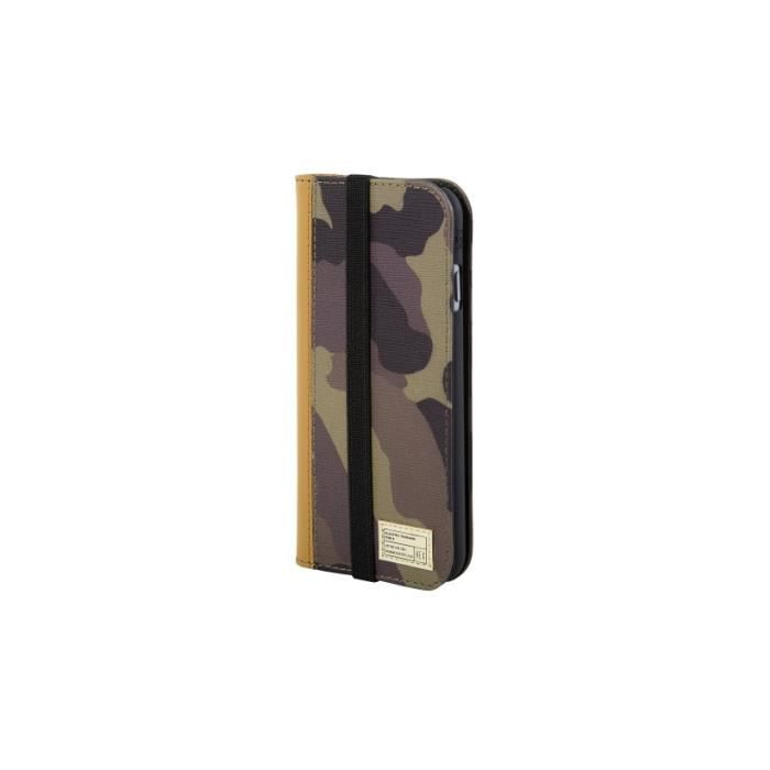 Coque iphone 6 cuir portefeuille icon camouflage hex for Coque iphone 6 portefeuille