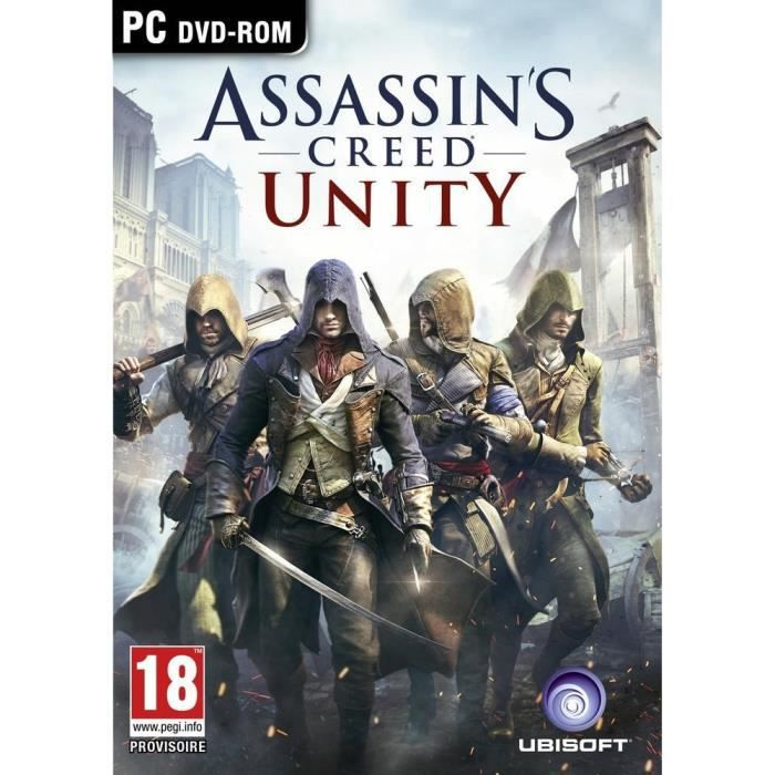 JEU PC Assassin's creed Unity Jeu PC