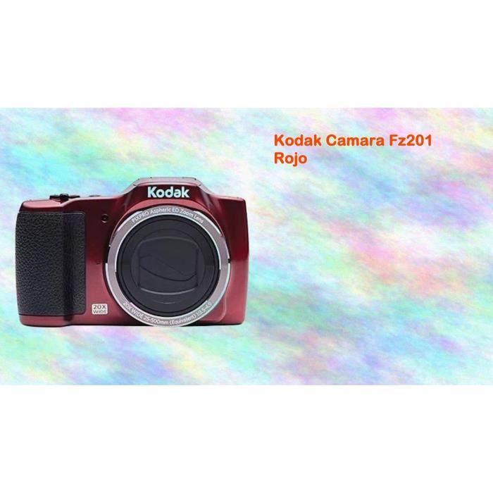 Rouge Appareil Photo Numérique Compact 16.1 Mégapixels KODAK Pixpro FZ201