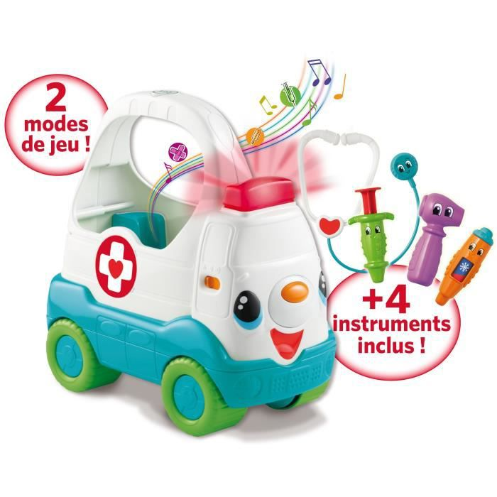 Leapfrog bobo l 39 ambulance achat vente talkie walkie jouet cdiscount - Table d activite leapfrog ...