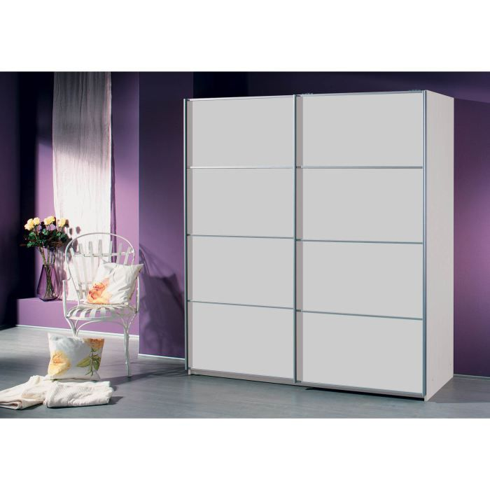 armoire adulte emilie ii blanc achat vente armoire de chambre armoire adulte emilie ii blanc. Black Bedroom Furniture Sets. Home Design Ideas