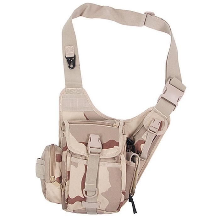 Holster Beige Sacoche Miltec Bandoulière Camouflage q775tRwA