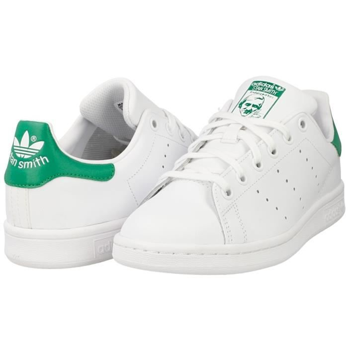 7e46f006fd9 Adidas Originals Stan Smith M20324 Blanc  Vert - stan smith