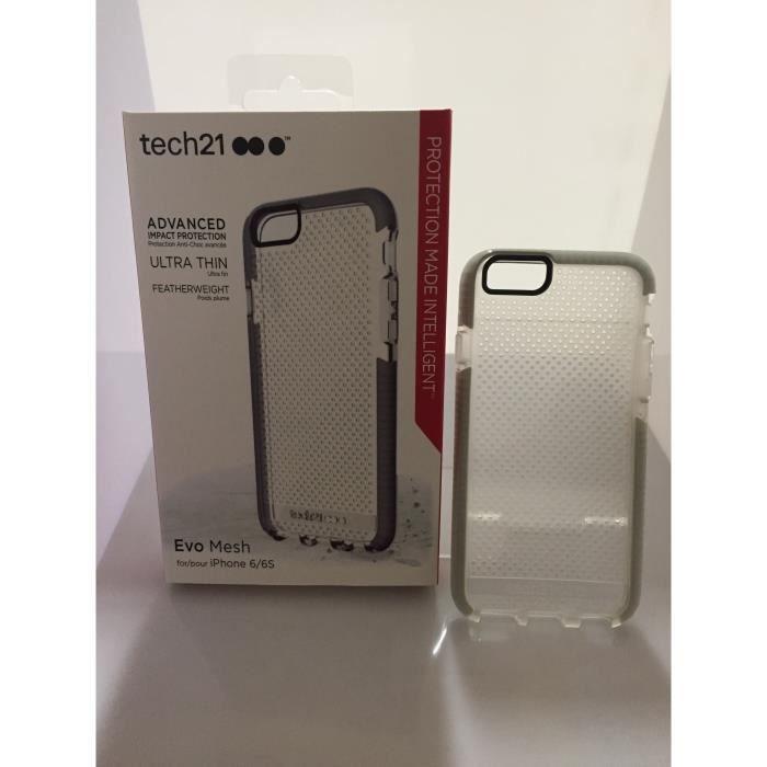 tech21 evo mesh flexshock coque pour iphone 6 6s