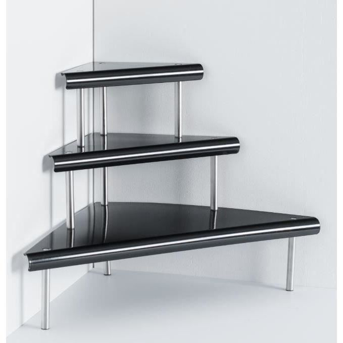 etagere angle 3 niveaux achat vente etagere angle 3. Black Bedroom Furniture Sets. Home Design Ideas