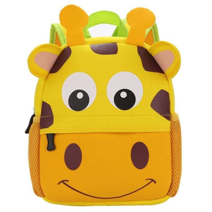Sac /à Dos Enfant Garderie Maternelle Sac Creche Sac Animaux /École Cartoon Mignon pour b/éb/é Fille gar/çon 1-3 Ans Tigre