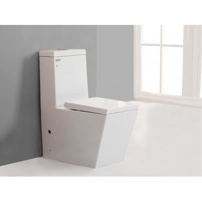 Wc pos goro ii avec abattant silencieux achat vente wc toilettes wc po - Abattant wc silencieux ...