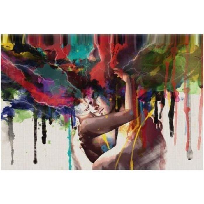 Peinture à l huile moderne