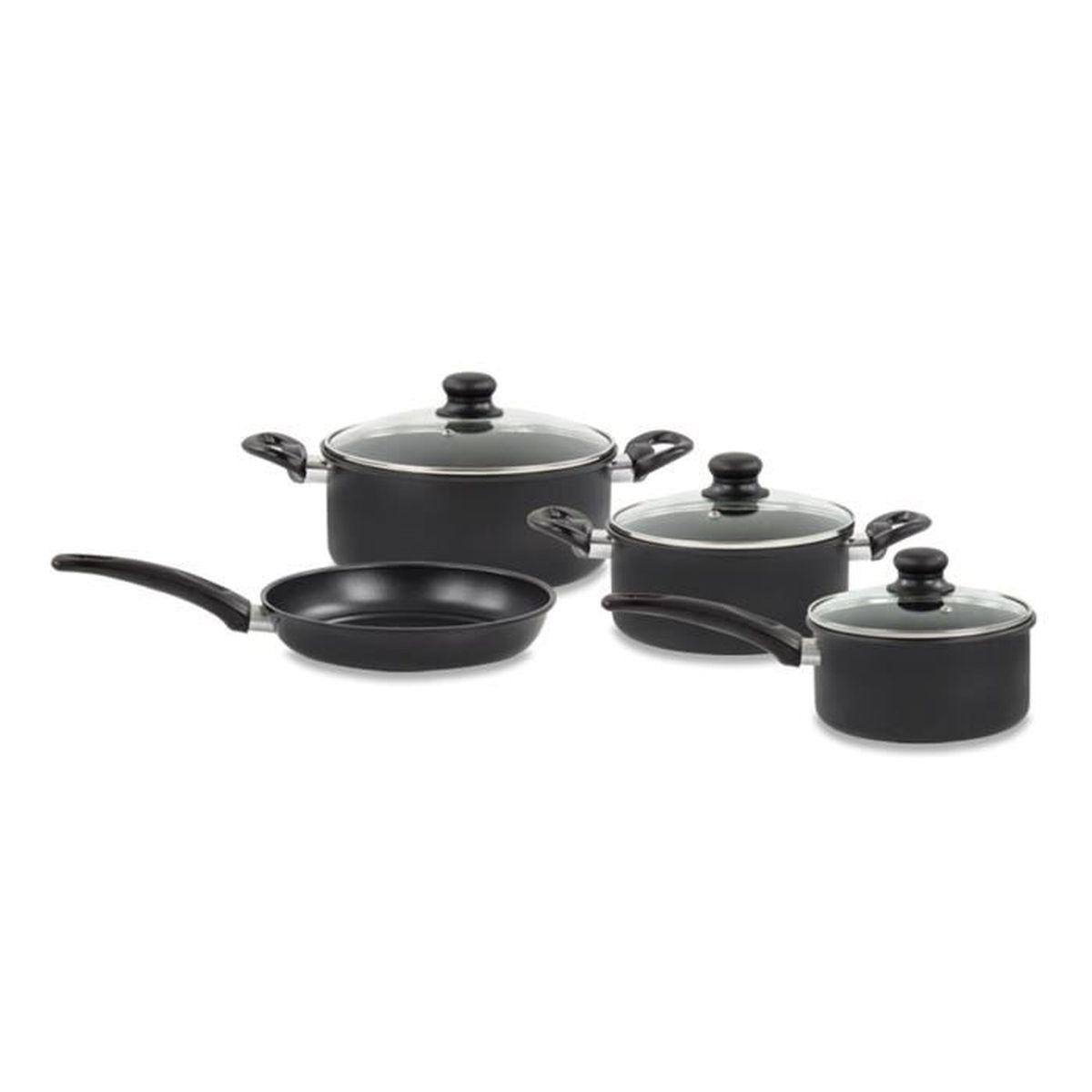 Grande cuisine Faitout Avec Couvercle Antiadhésif Poêle Plaque De Cuisson Casserole Casseroles Induction Pan