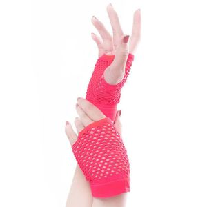 GANT - MITAINE Punk Goth Lady Disco Dance Costume Dentelle Finger