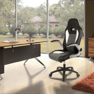 CHAISE DE BUREAU  Fauteuil / Chaise de bureau - Tissu en cuir PU -I