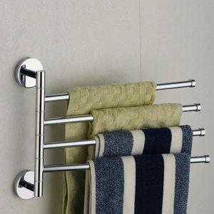 PORTE SERVIETTE Porte serviette de salle de bains en acier inoxyda