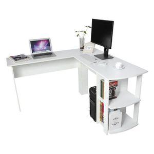 BUREAU  Bureau d'angle pour ordinateur meuble informatique