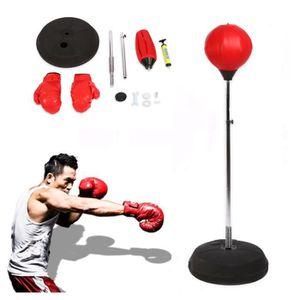 SAC DE FRAPPE Punching Ball Sac de Frappe Avec Gants de Boxe et