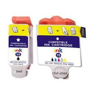 CARTOUCHE IMPRIMANTE Pack 2 cartouches KODAC compatibles N° 10 3949914