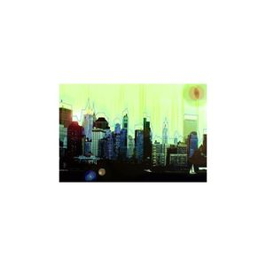 Tableau panoramique new york achat vente tableau for Tableau plexiglass new york