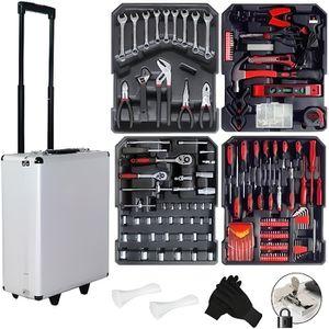 VALISETTE - MALLETTE Valise à outils - 816 pièces - En aluminium - Avec