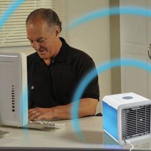 CLIMATISEUR MOBILE Climatiseur Mini Portatif Led Refroidisseur d'Air