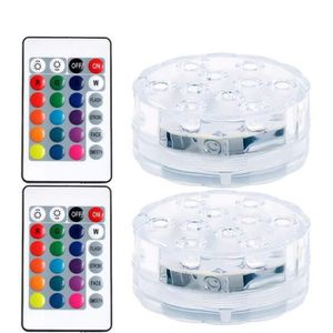 AMPOULE - LED Piscine Ampoule LED RGB LED submersible sous-marin