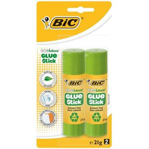 COLLE - PATE ADHESIVE BIC Stick ECOlution Glue 2 Colles 21g