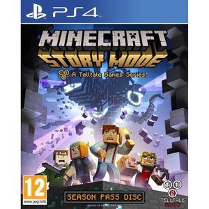 JEU PS4 Minecraft  Story Mode Jeu PS4
