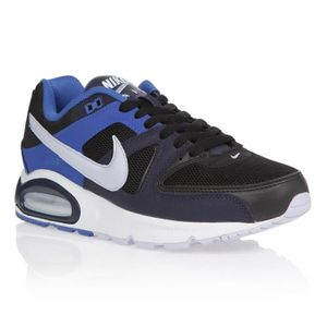 BASKET NIKE Baskets Mixte AIR MAX COMMAND Noir/Bleu