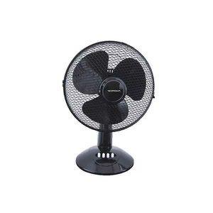 39x18x39cm m/étal /® Ventilateur de table 3 vitesses argent in.tec /ø30cm