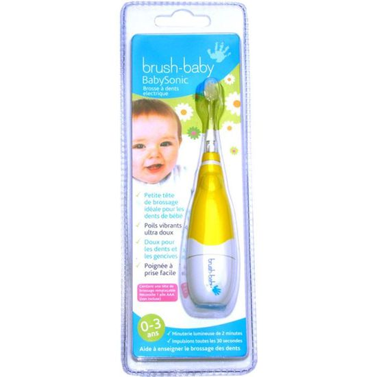 Brush-Baby T/êtes de rechange pour brosse /à dents BabySonic 18-36/mois