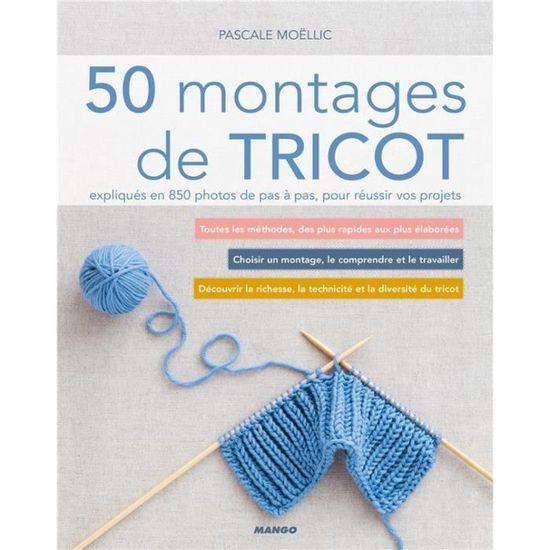 Livre 50 Montages De Tricot