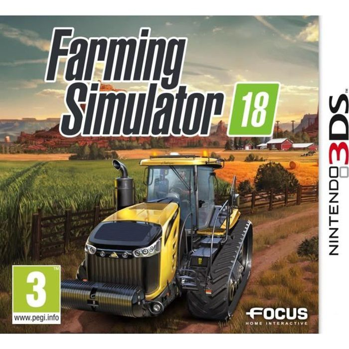 Farming Simulator 18 Jeu 3DS