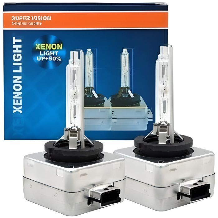 Ampoules D1S 55W Xenon 12000K feux de remplacement