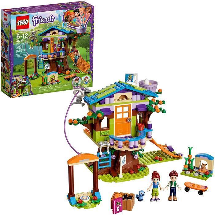 Ensemble de jouets de construction créatifs Friends Mia's Tree House pour enfants, meilleur cadeau d'apprentissage et de jeu de rôle