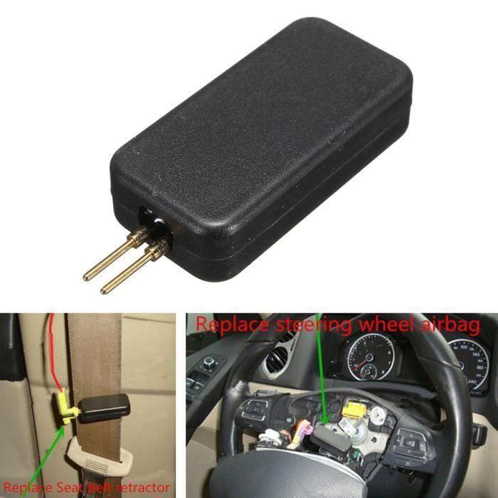 Airbag voiture simulateur Emulator Bypass Garage Srs Recherche de pannes outil de diagnostic QP1253 LIJFK8154