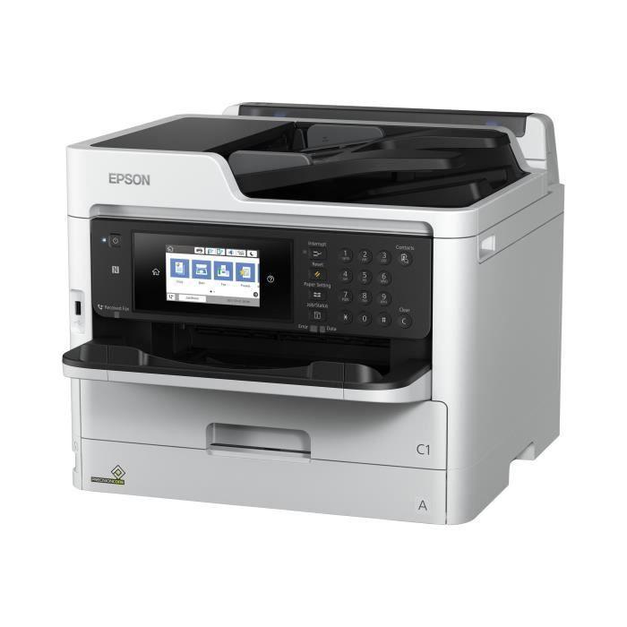 Epson Workforce Pro Wf C5790dwf Imprimante multifonctions couleur jet d'encre Legal (216 x 356 mm) (original) A4 Legal (support)...