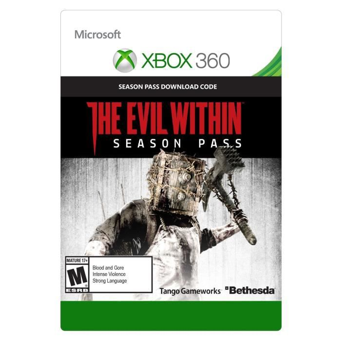 Season Pass The Evil Within pour Xbox 360