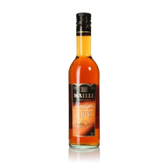 MAILLE Vinaigre de vin aromatisé - Noix - 50 cl